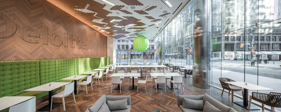 Deloitte toronto office toronto canada trends and trades for Design consulting toronto